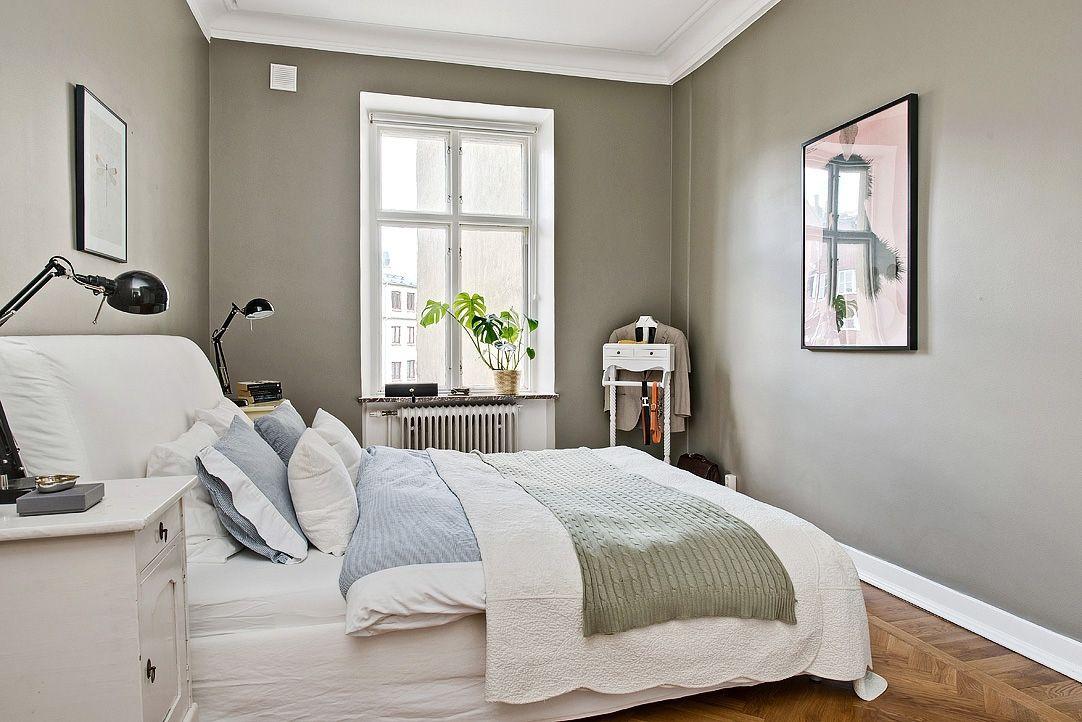 Sovrummet mot innergården