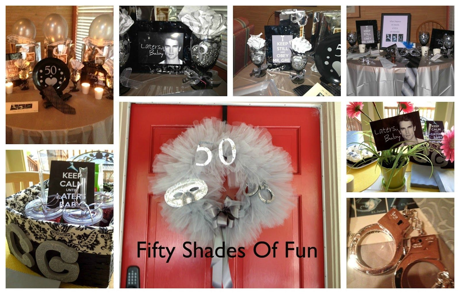 50 Shades Of Grey Decorations 17 Best Images About Girls Night Ideas On Pinterest Pure Romance
