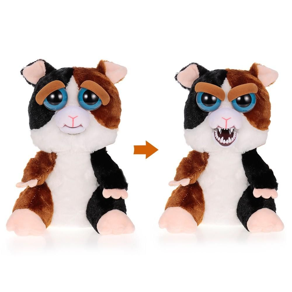 Feisty pets Changing Faces Cute Prank toy Pets cuddling