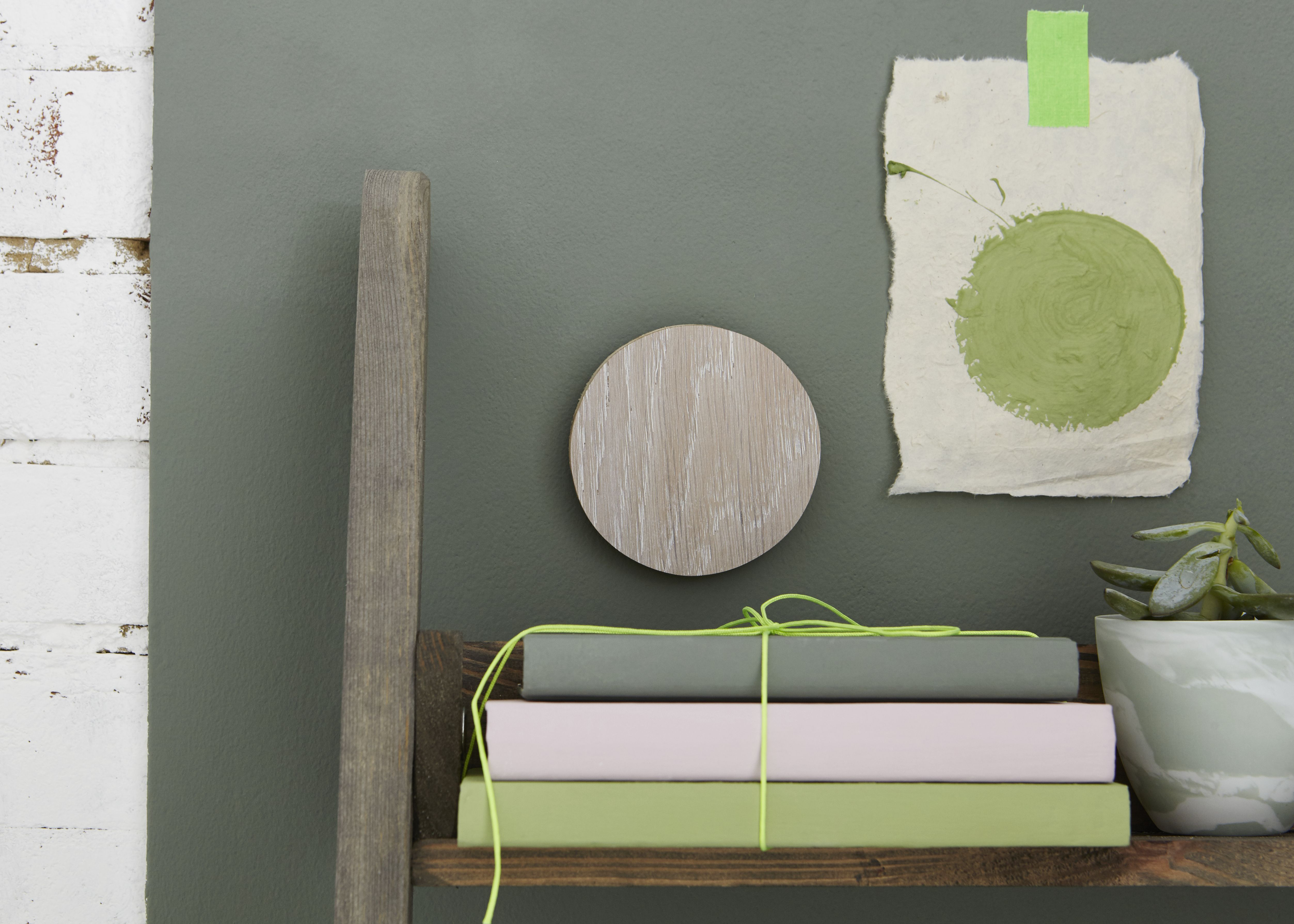 Spring Green by Earthborn paints featuring Secret Room Claypaint ...