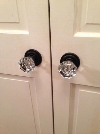 Mobile Home Interior Lever Passage Oil Rubbed Bronze Door Handle