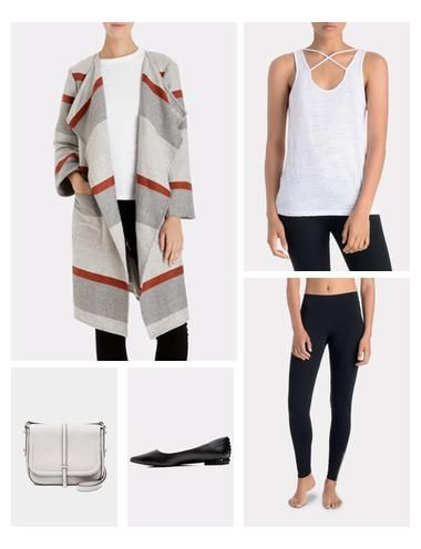 The Zipper Legging from LNA is a wardrobe favorite. The slim legging has an exposed zipper along the ankle and banding along the waist. Wear under an oversized sweater and tee or with activewear!