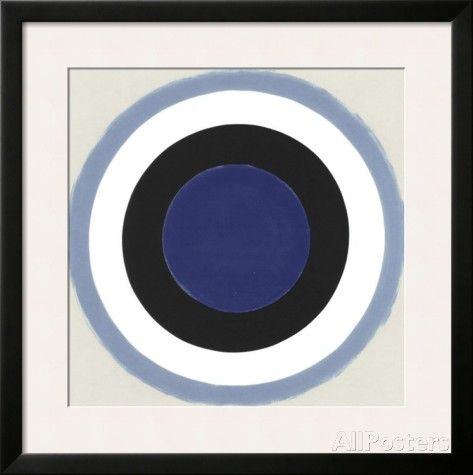 Blue Extend, c.1962 Posters by Kenneth Noland at AllPosters.com