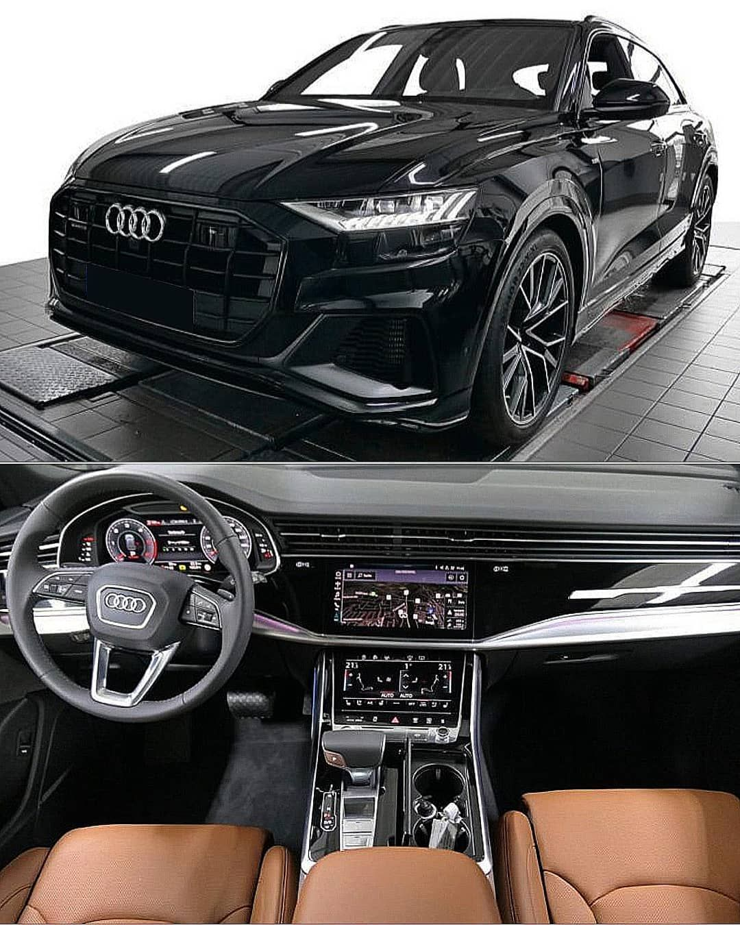 Audi Q8 On Instagram Black Cognac Q8 Audi Lovers Q8nation Audi Audiq8 Audilove Carlove Suv Audiq7 Audilove Audiq8 Black In 2020 Black Audi Suv Cars Audi