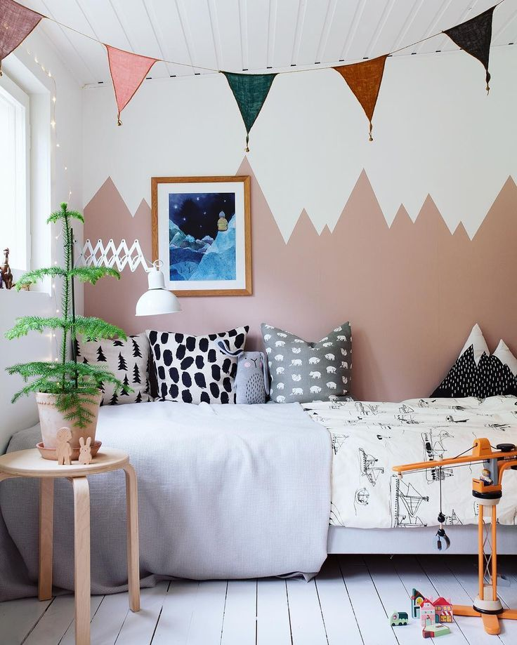 Children room Inspiration / Wall painting / Styling ideas | Ellie ...