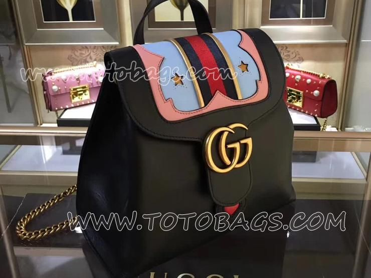 45f0f090131 432265 DLXMT 8767 グッチ GGマーモント バッグ スーパーコピー GUCCI GG Marmont レディース チェーン バックパック