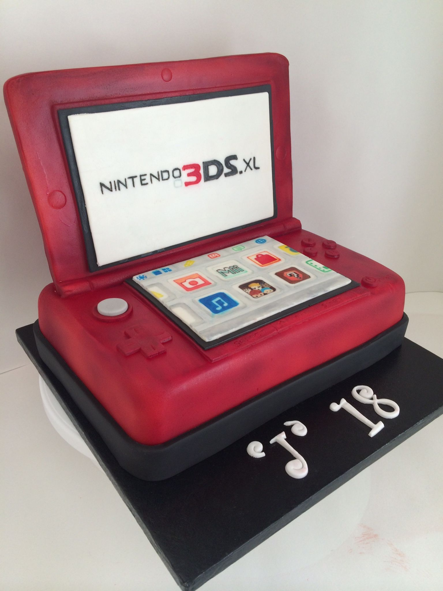 Nintendo 3ds cake Video game cakes, Nintendo birthday