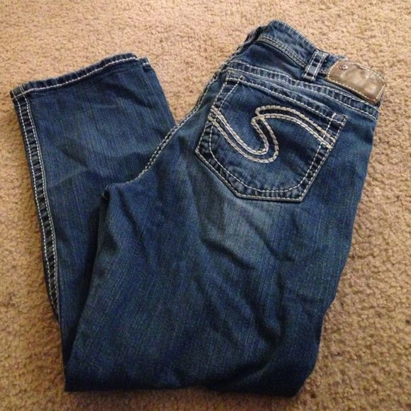 Silver jeans Natsuki Capris Size 33 | Capri, Silver and Silver jeans