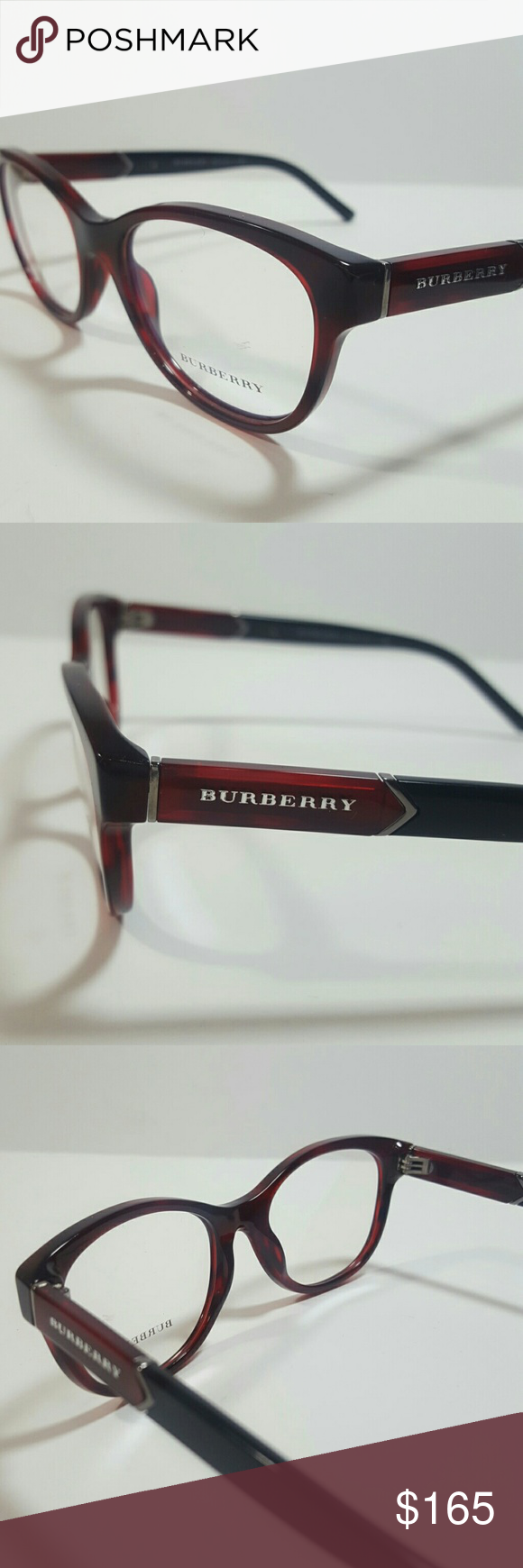 Burberry Eyeglasses Authentic Burberry Eyeglasses  Size 52-18-140  Includes original case Burberry Accessories Glasses