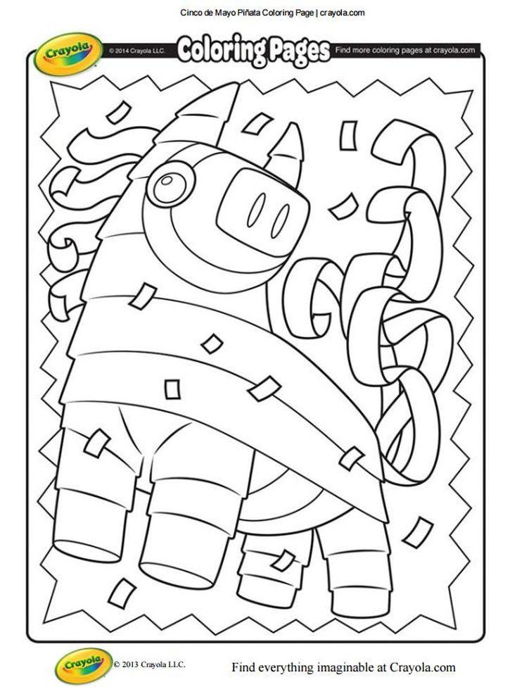167 Free, Printable Cinco de Mayo Coloring Pages for Kids | Cinco de ...