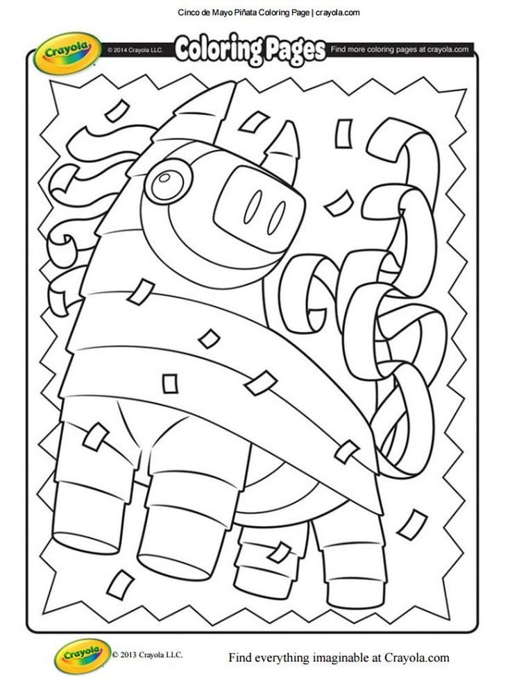 Free Cinco De Mayo Coloring Pages With Images Free Coloring Pages