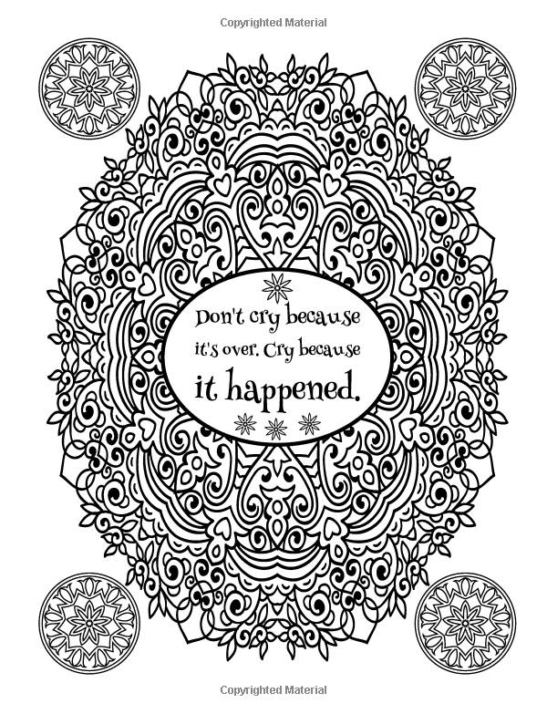 Amazon Com A Snarky Mandala Coloring Book More Mandalas Ugh Humorous Coloring Books For Grow Mandala Coloring Books Love Coloring Pages Mandala Coloring
