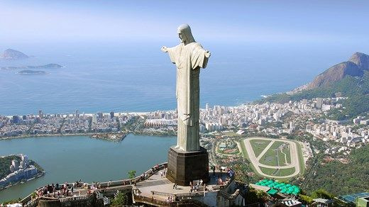 """The big dude"" Christ the Redeemer in Rio de Janeiro, Brasil, South-America #statue #christ #Brasil #view #backpacking #kilroy"