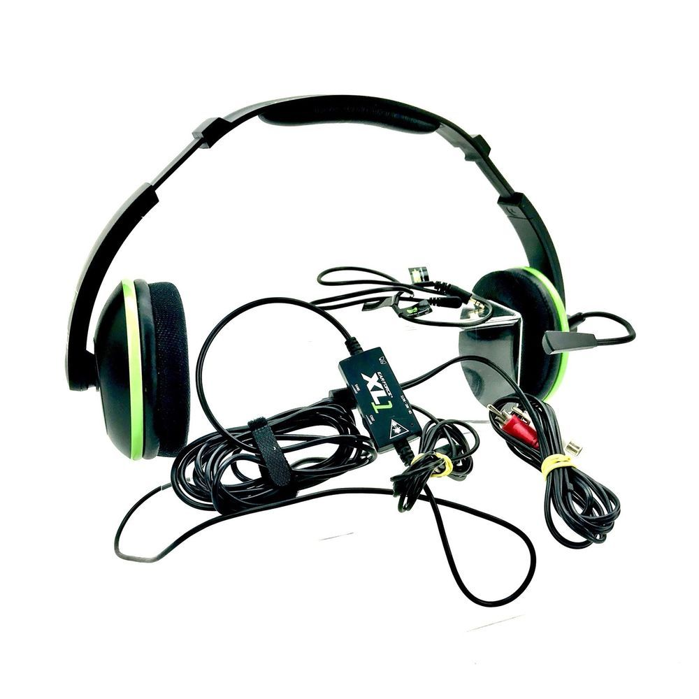 a41b1f82745 Turtle Beach Ear Force XL1 Headset XBox 360 VGC Complete gaming headphones  mic