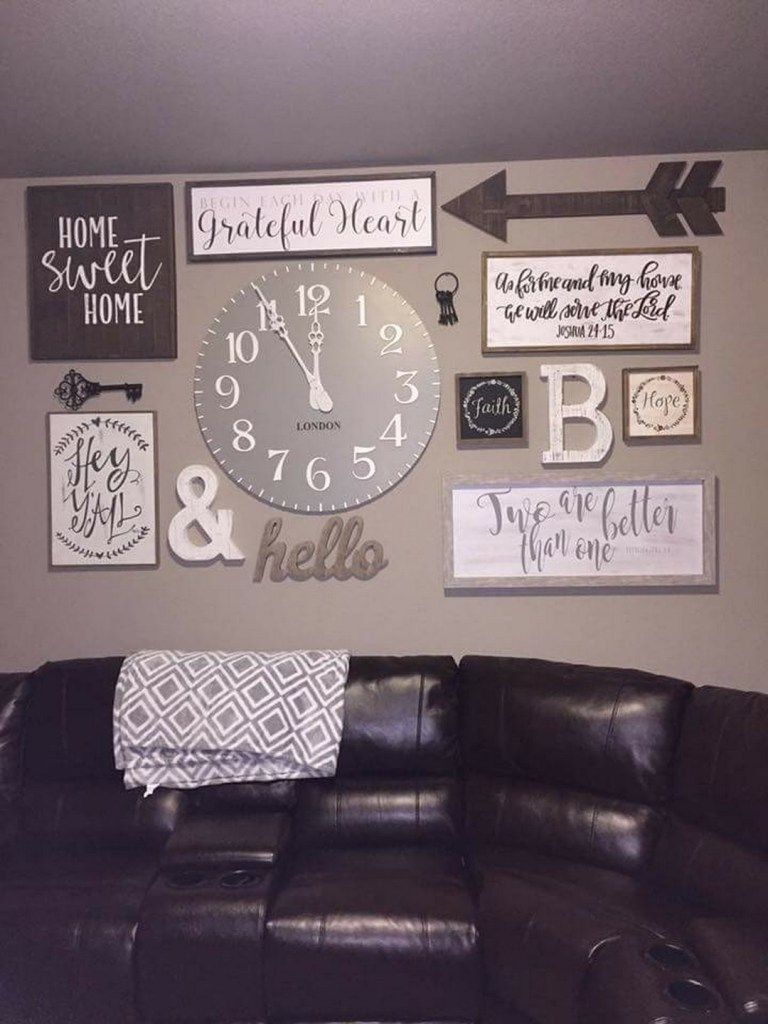 99 diy farmhouse living room wall decor and design ideas 10 for rh pinterest com