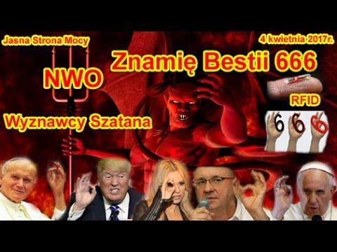 Znamie Bestii 666 Wyznawcy Szatana Czip Rfid Nwo Apokalipsa