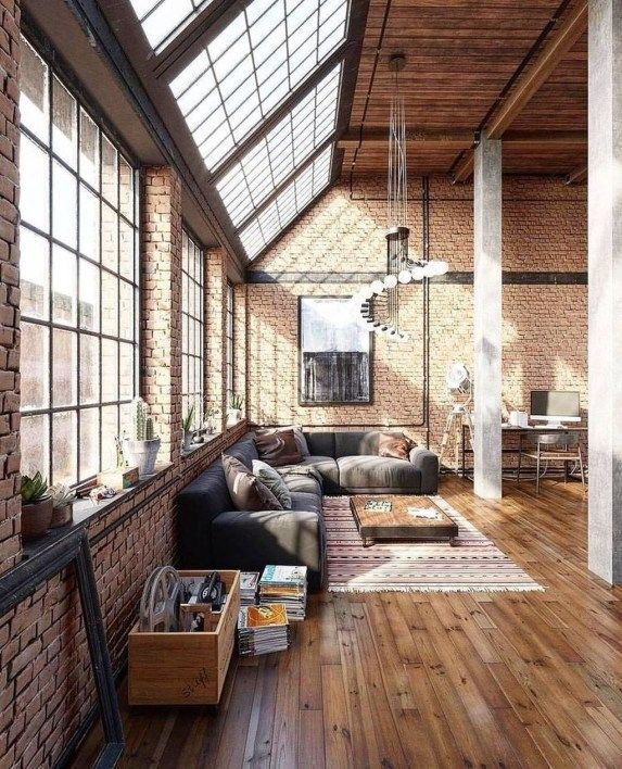 5 Dream New York Lofts, von denen Sie sich inspirieren lassen!  #denen #dream #inspirieren #lassen #livingroomdecorationideas #lofts #beautifularchitecture