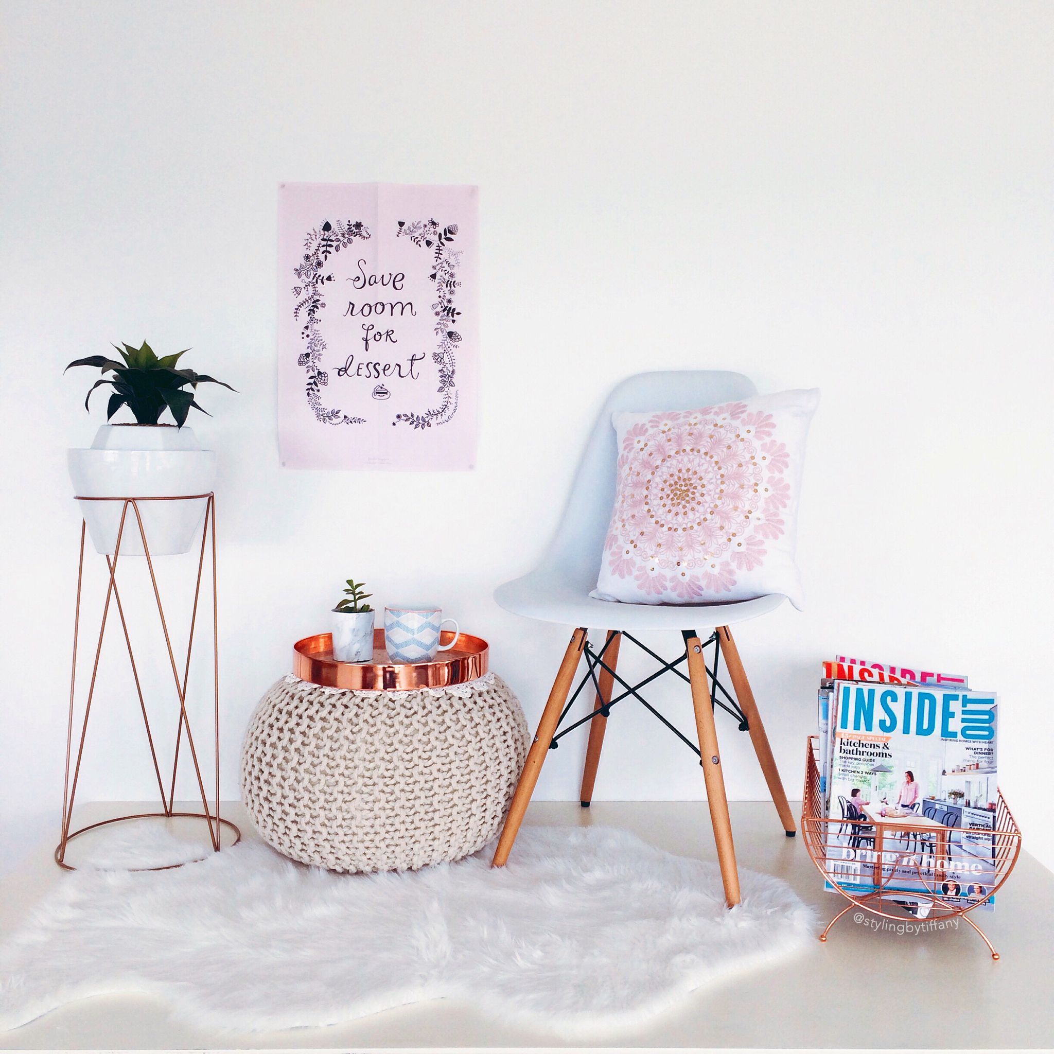 kmart decor styling by tiffany pinterest copper accents