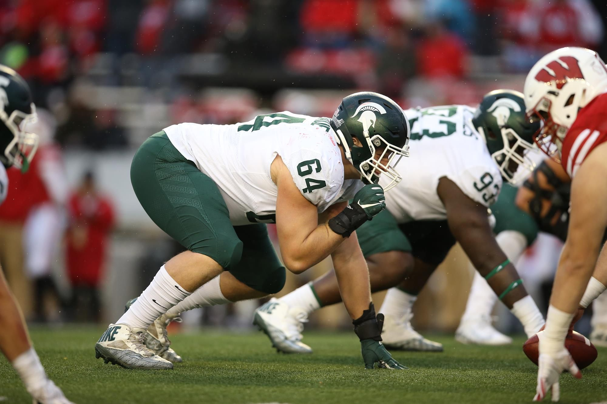 Jacub Slade Mich St Images Google Search In 2020 Michigan State Football Football Helmets Football