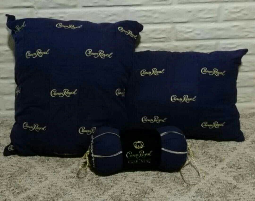 Crown Royal pillows