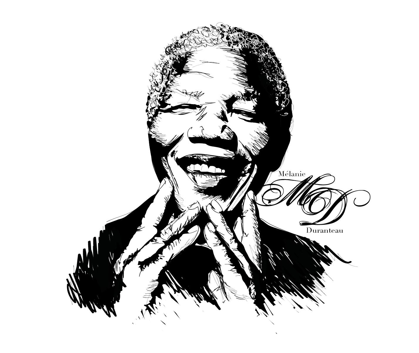f5c31162d New Dessin – Nelson Mandela   Ideas   Nelson mandela, Sketchbook ...