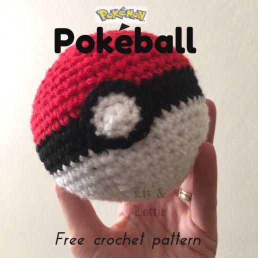 Pokball Crochet Pattern Crochet Patterns And Free Crochet