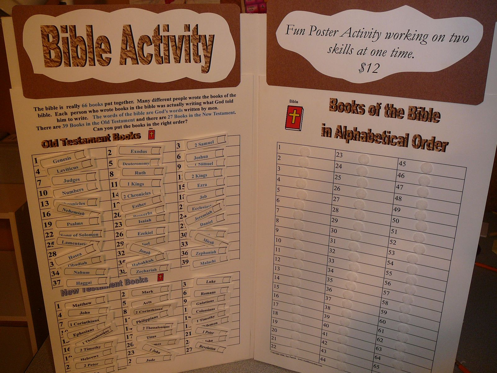 2 More Ways to Learn the Books of the Bible ...