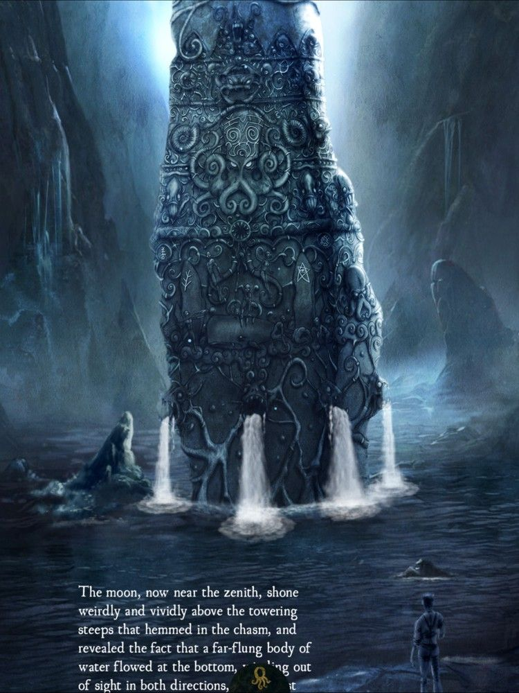 H.P. Lovecraft - Dagon | Lovecraft art, Lovecraft, Lovecraftian horror