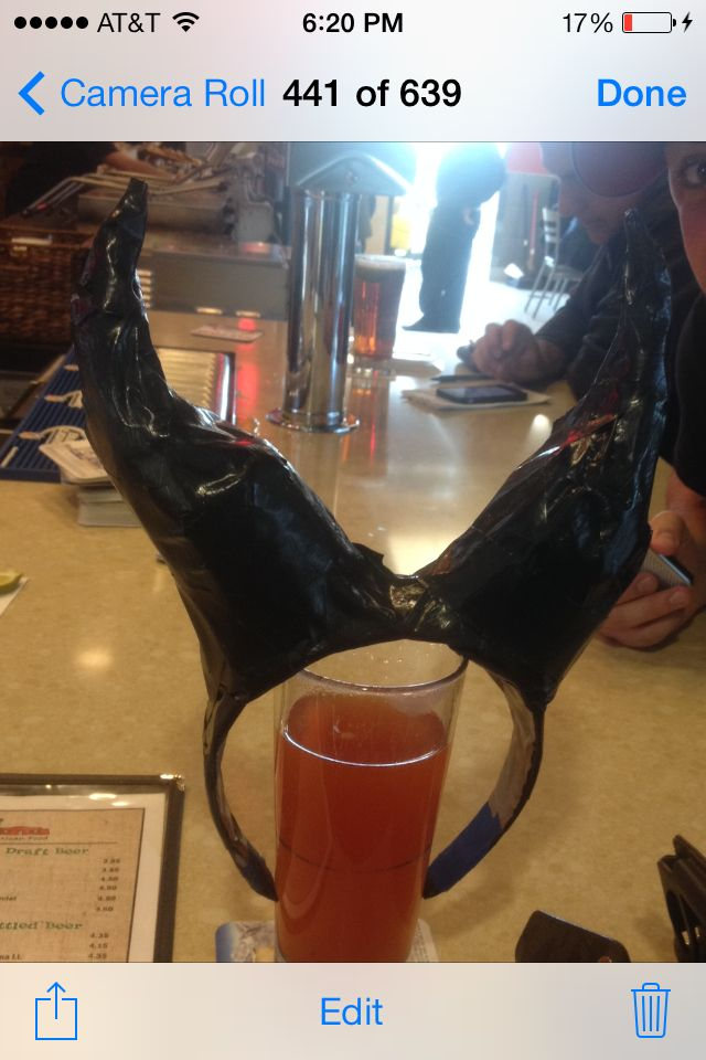 Vegas Halloween Parties 2020 Monster Mash Maleficent Horns. Dyi tutorial from you tube. Headband, 2 Dixie