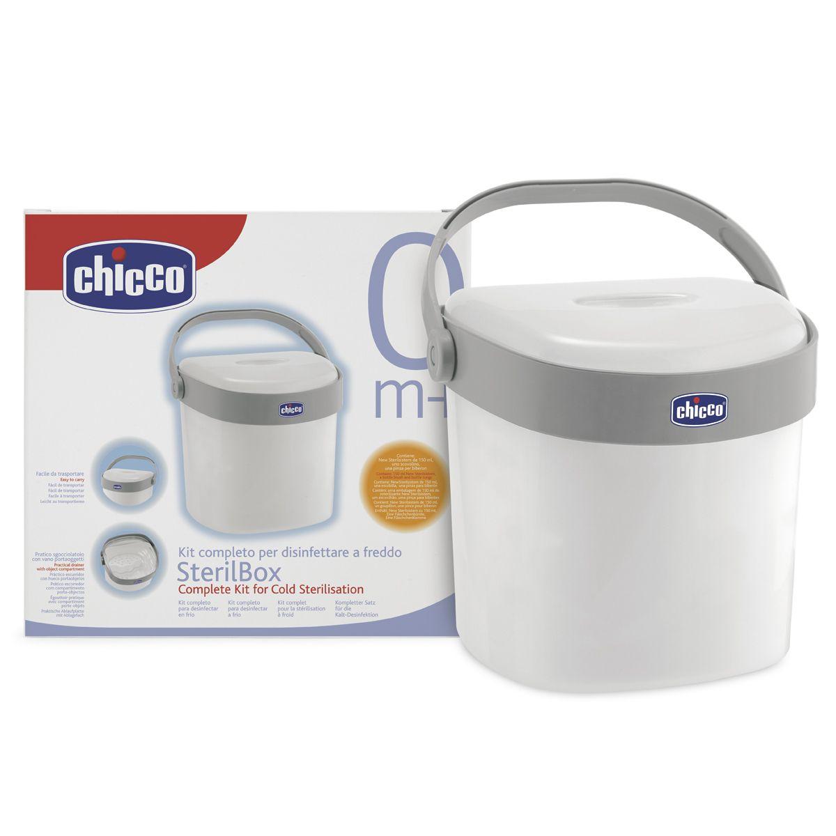 Sterilizzatore Chicco Sterilbox Kit Disinfettante A Freddo A 22