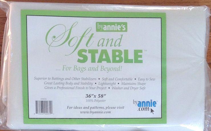 Soft and Stable tussenvulling voor tassen