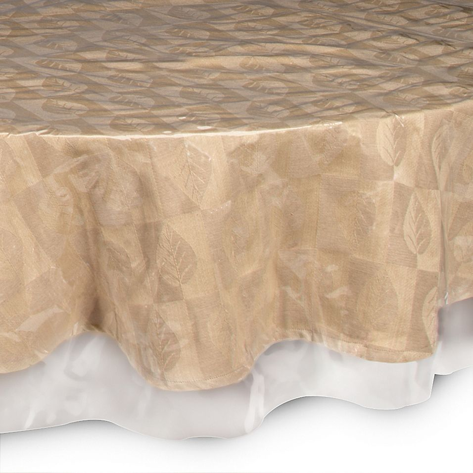Crystal Clear 70 Round Tablecloth Protector 70 Inch Round Tablecloth Round Tablecloth Oblong Tablecloth