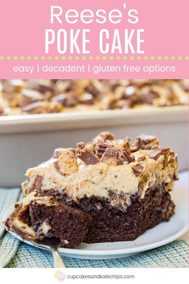 Ultimate Reese's Poke Cake Recipe – Cupcakes & Kale Chips