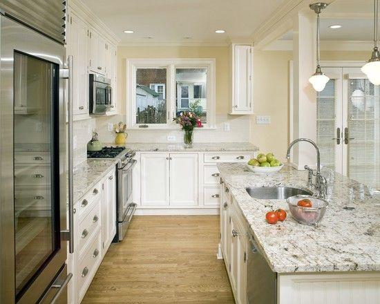 Traditional Kitchen Granite Countertop Design Pictures