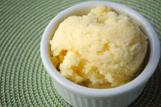 Pineapplesorbet