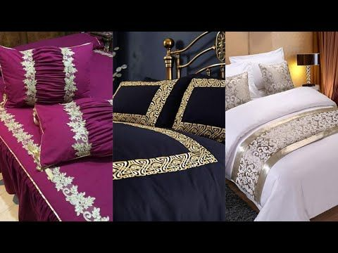 Beautiful king Size #Bedsheets/Home Decor Ideas/Printed Cotton Bedding Designs/#FashionWorld - YouTube