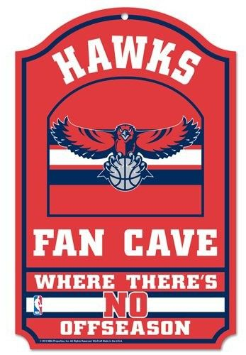Another #ATLHawks sign for your man cave.