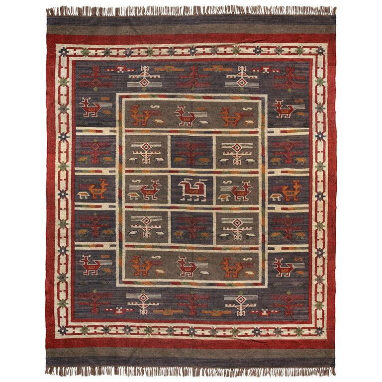 St Croix Hacienda Tribal Hand Woven Area Rug Area Rugs Rugs Eclectic Rugs