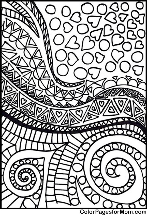 Doodles Coloring page 76 Coloring Pages Pinterest Doodle - new advanced coloring pages pinterest