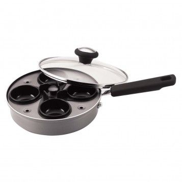Farberware 8-Inch Egg Poacher Set, Chammpagne, available at the Food Network Store