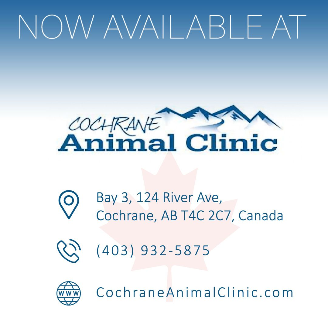 LumaSoothe is now available in Canada at Cochrane Animal