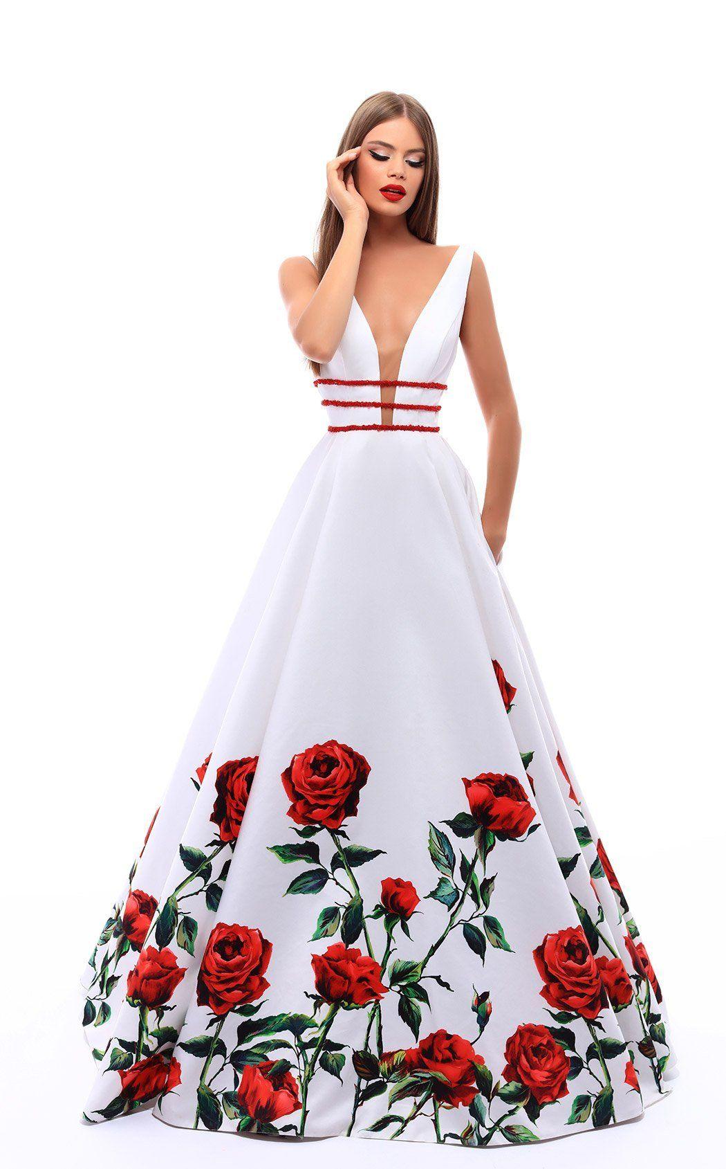 Tarik Ediz 50275   Women\'s fashion   Pinterest   Dresses, Ball gowns ...