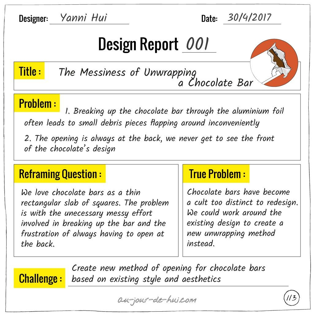 Design Report   Using Design Thinking To Solve Problems  Au
