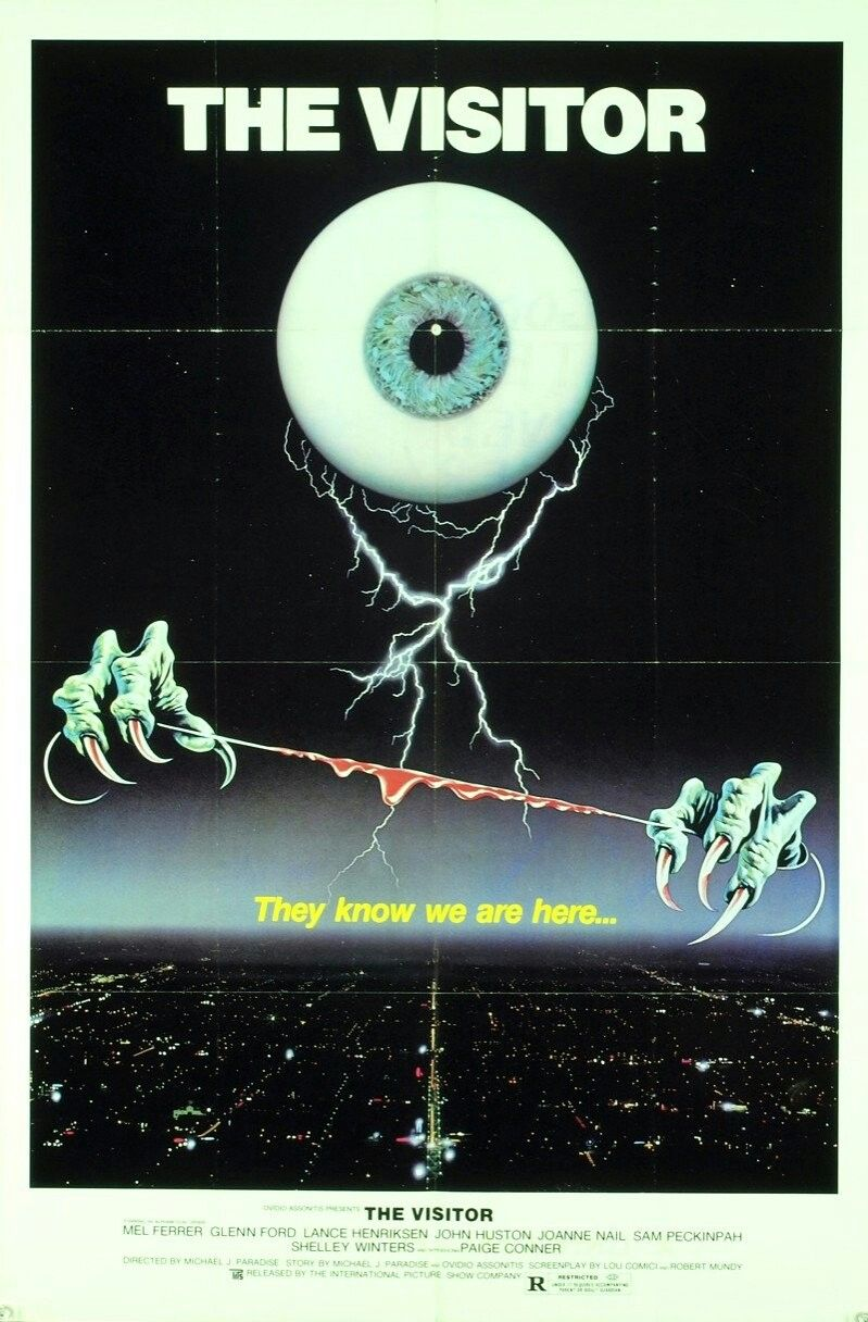The Visitor (1979) Horror posters, Film posters art, Sci