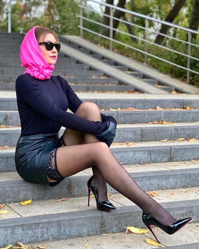 German mature nylon