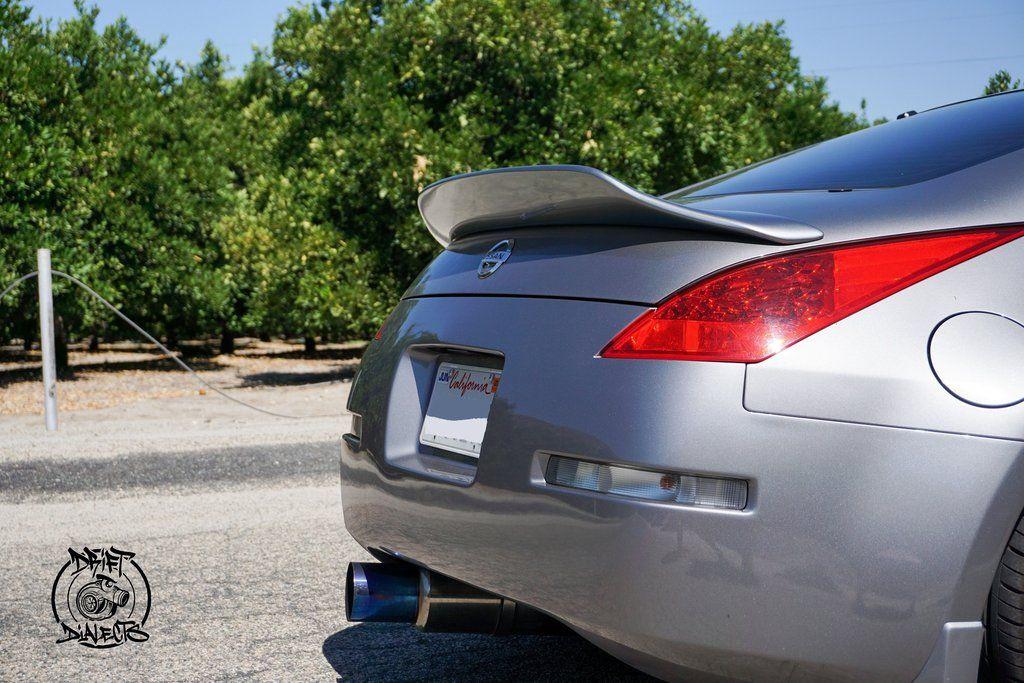 350z Duckbill Trunk Wing V2 Nissan 350z Trunks Light Colors