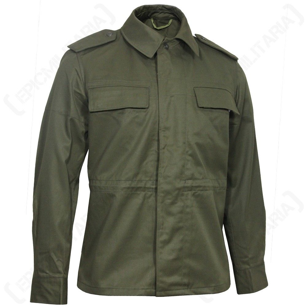 9abc1e644db Original Czech Army Service Jacket - Olive Drab