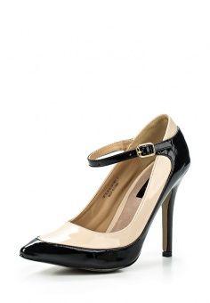 Туфли LOST INK, цвет: черный. Артикул: LO019AWEFK51. Женская обувь / Туфли