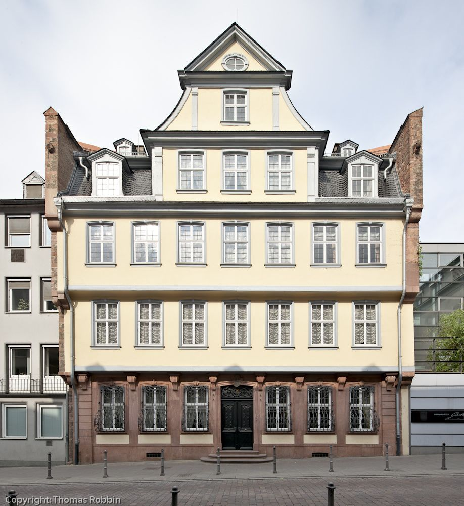 Goethe House, Frankfurt Germany German architecture
