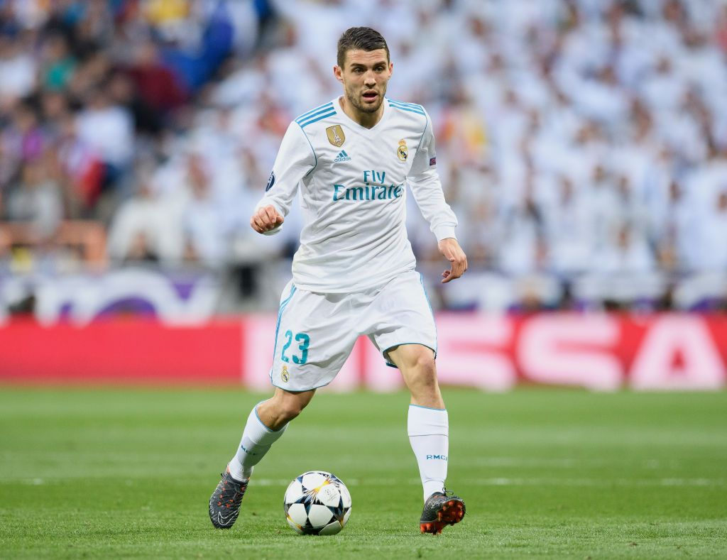 Mateo Kovacic Of Real Madrid Controls The Ball During The Uefa Real Madrid Madrid Mateo Kovačić